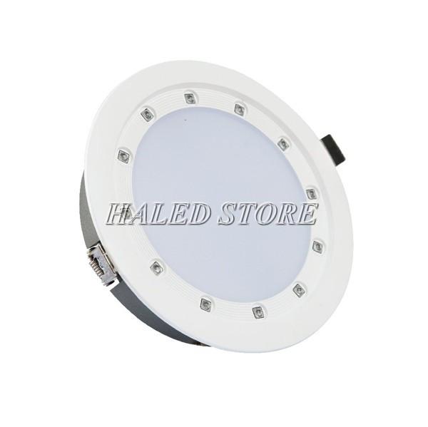 Đèn LED âm trần HLRD AT21.UV 135-14 với bề mặt mica chống chói