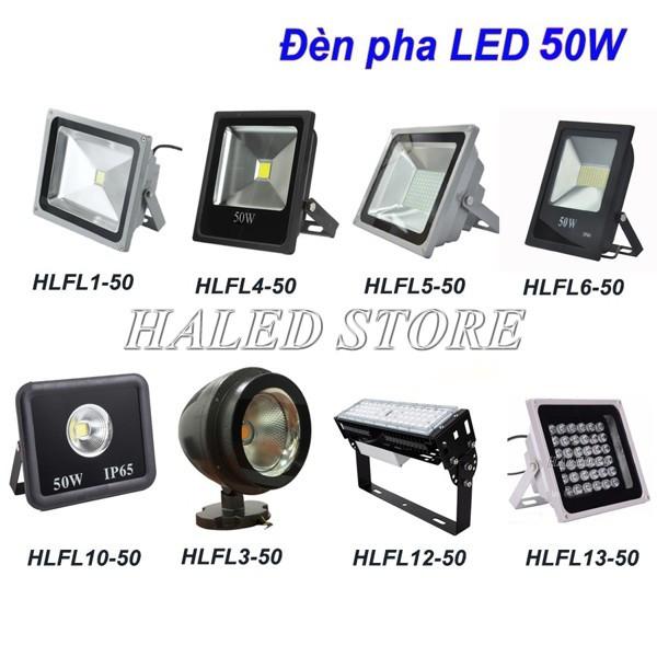 Đèn LED cao áp pha 50w HALEDCO