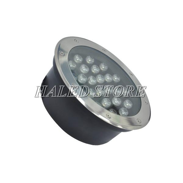 Kiểu dáng đèn LED âm đất HLDAUG1-24 RGB