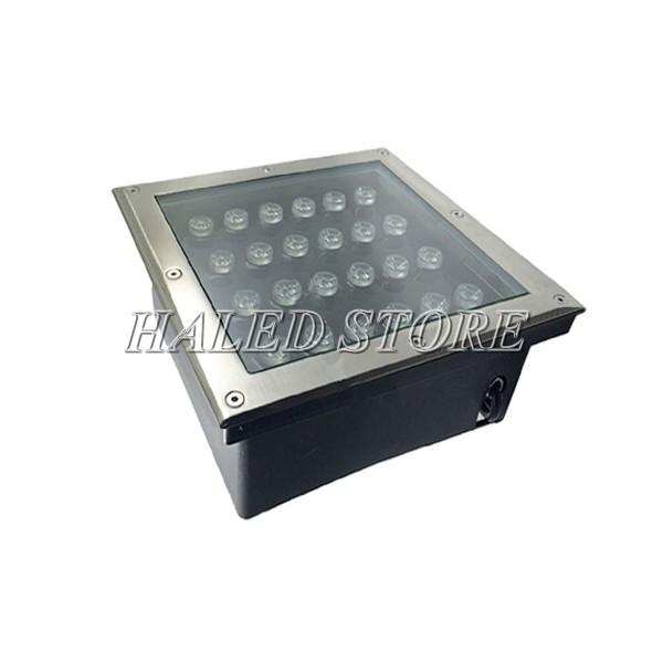 Kiểu dáng của đèn LED âm đất HLDAUG2-24 RGB
