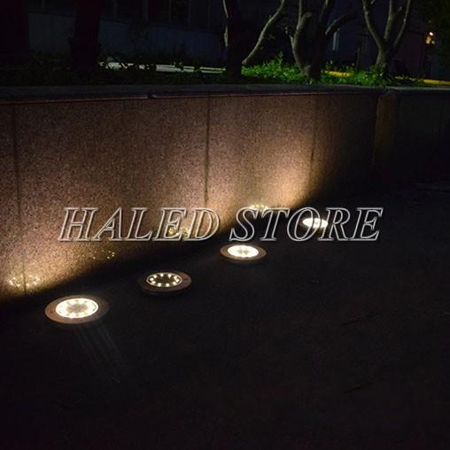 Ứng dụng chiếu sáng của đèn LED âm đất HLDAUG1-36
