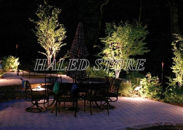 Ứng dụng chiếu sáng của đèn LED âm đất HLDAUG5-36