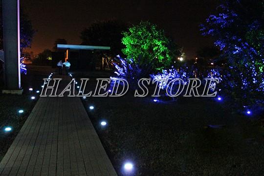 Ứng dụng chiếu sáng của đèn LED âm đất HLDAUG5-20