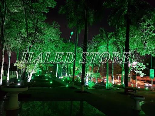 Ứng dụng chiếu sáng của đèn LED âm đất HLDAUG2-24 RGB
