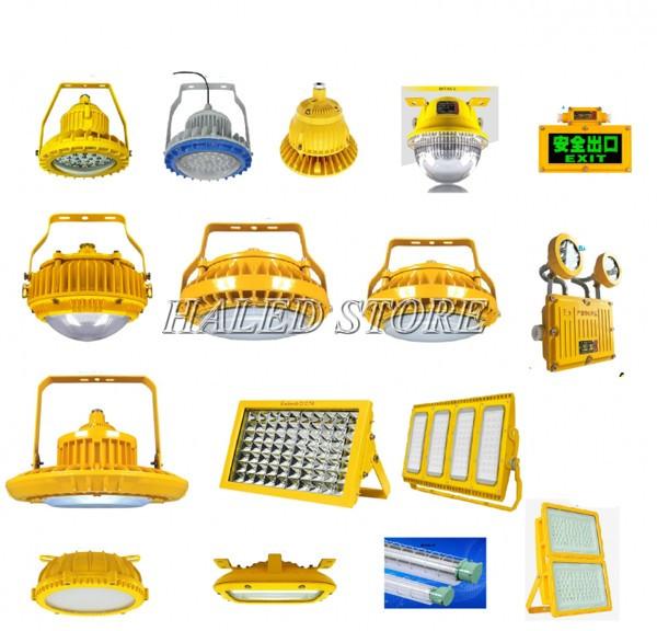 Các mẫu đèn chống cháy nổ HALEDCO chiếu sáng nhà xưởng