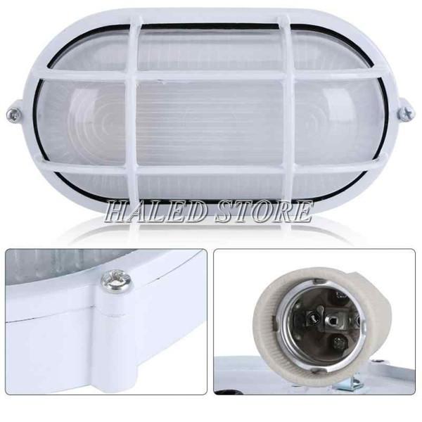 Cấu tạo của đèn LED ốp tường chống cháy nổ HLDAEP OP1-10
