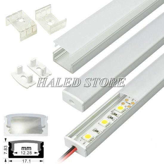 Cấu tạo của đèn LED thanh nhôm