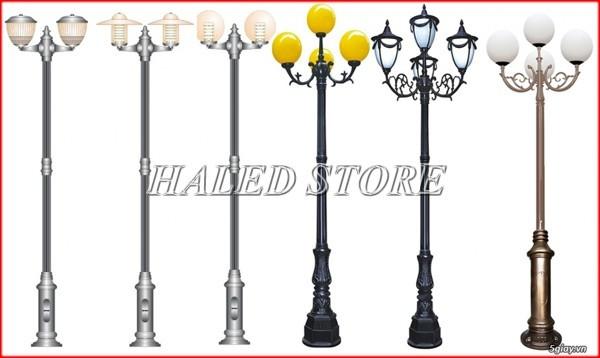 Cột đèn trang trí công cộng HALEDCO