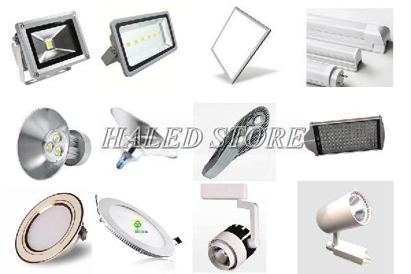 Đèn LED đa dạng kiểu dán, mẫu mã