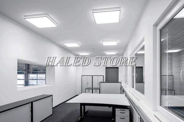 Ứng dụng đèn LED panel HLDAPLUC1-24