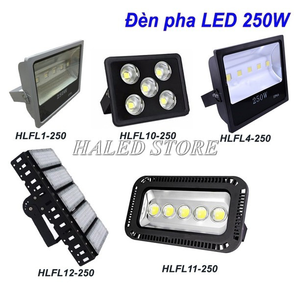 Đèn LED cao áp 250w HALEDCO pha LED bán chạy nhất