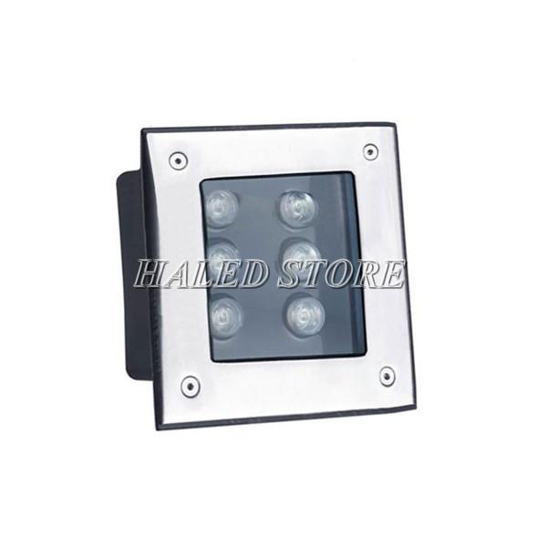 Kiểu dáng đèn LED âm đất HLDAUG2-6 RTGB