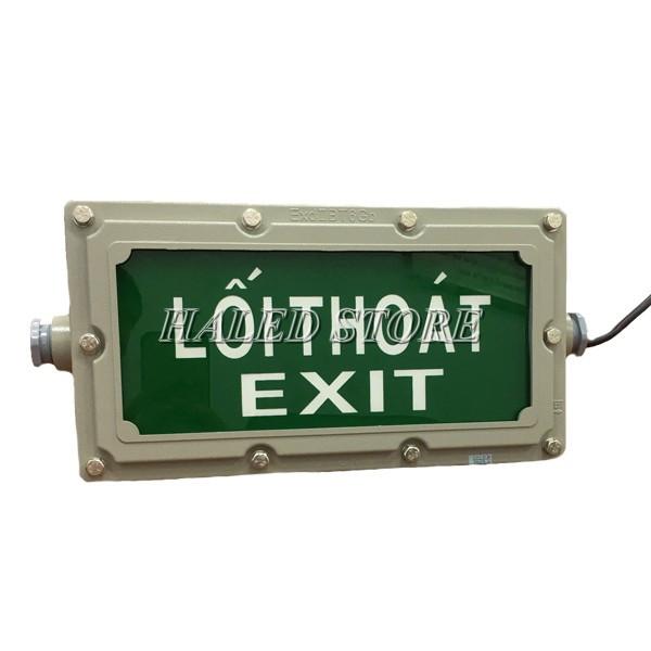 Mặt đèn LED Exit chống cháy nổ HLDAEP EXIT1-3