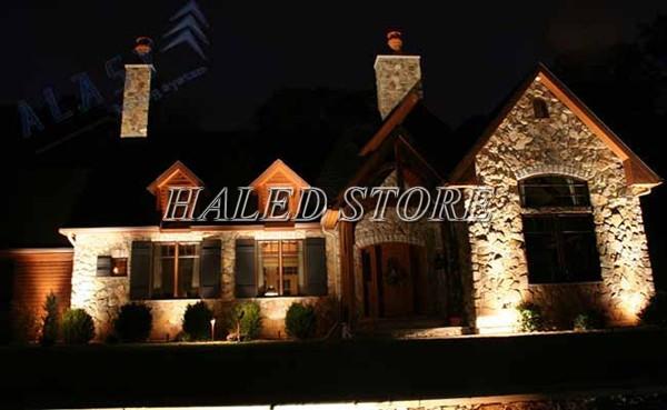 Ứng dụng chiếu hắt trang trí của đèn pha 80W HALEDCO