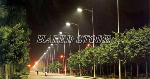 Ứng dụng chiếu sáng của đèn đường LED HALEDCO