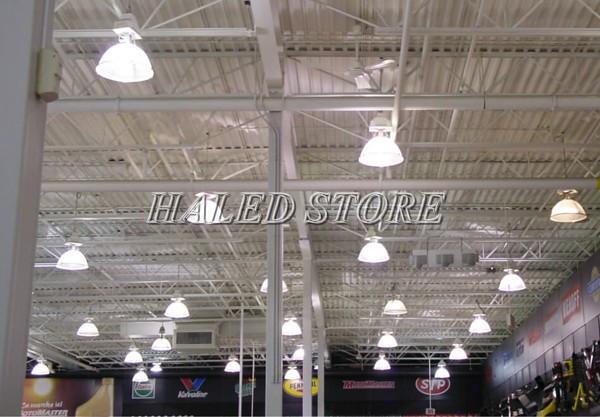 Ứng dụng chiếu sáng của đèn LED nhà xưởng Philips