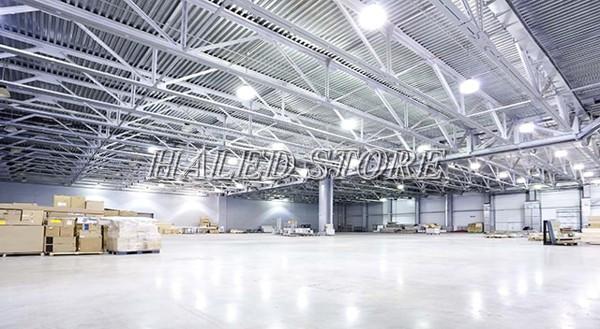 Ứng dụng chiếu sáng của đèn LED nhà xưởng HALEDCO