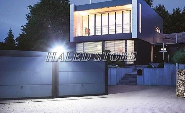 Ứng dụng chiếu sáng ngoài trời của đèn pha 80w HALEDCO