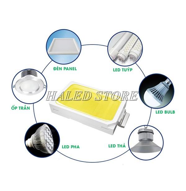 Ứng dụng của chip LED dán 12V