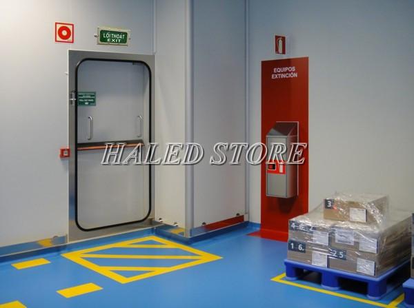 Ứng dụng của đèn LED Exit chống cháy nổ HLDAEP EXIT1-3