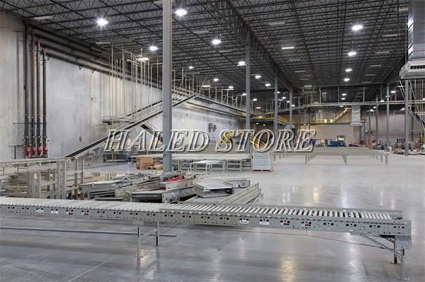 Ứng dụng của đèn LED nhà xưởng cao cấp chiếu sáng nhà xưởng