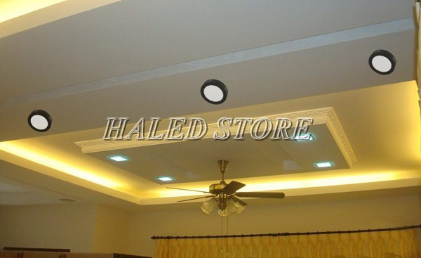 Ứng dụng của đèn ốp trần HALEDCO