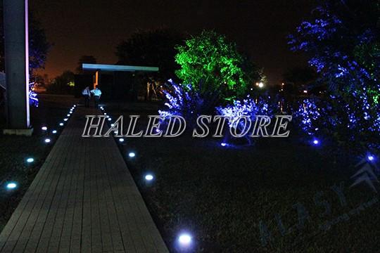 Ứng dụng của đèn LED âm đất HLDAUG4-50 RGB
