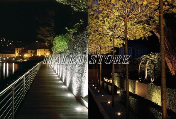 Ứng dụng của đèn LED âm đất HLDAUG4-50