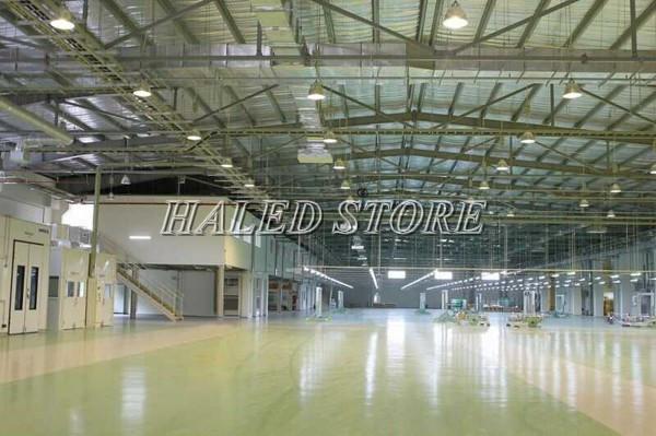 Ứng dụng chiếu sáng của đèn LED Highbay tại nhà máy