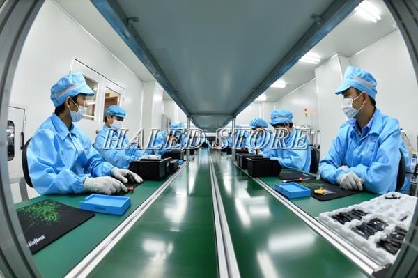 Ứng dụng của đèn phòng sạch trong sản xuất công nghiệp