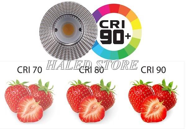 Chỉ số hoàn màu CRI là gì?