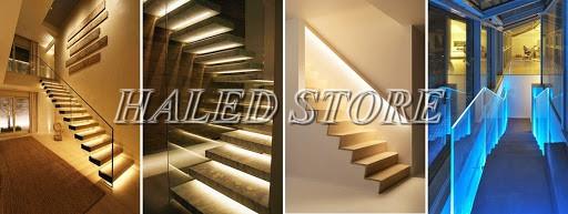 Đèn LED cầu thang