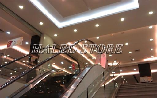 Ứng dụng chiếu sáng trung tâm thương mại