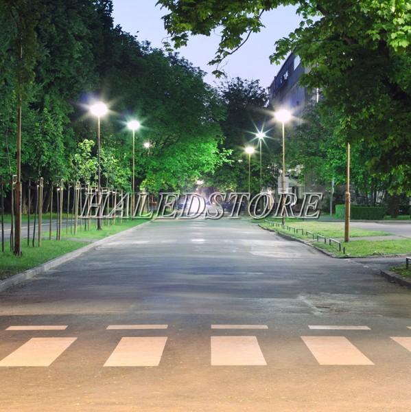 Ứng dụng đèn đường LED DQDA ALLEY 1-50