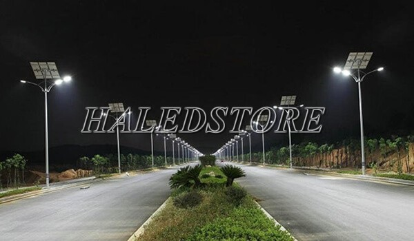 Ứng dụng đèn đường LED năng lượng mặt trời RDDA CSD01 SL-30