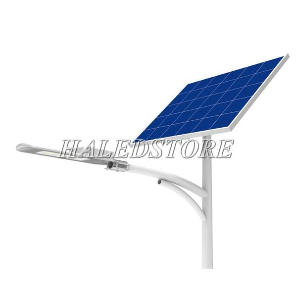 Đèn đường LED RDDA CSD01 SL-50 sử dụng tấm pin năng lượng mặt trời