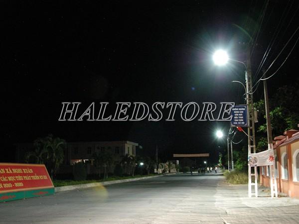 Ứng dụng đèn đường LED năng lượng mặt trời RDDA D CSD03L-30