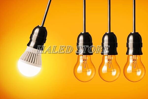 Quang thông Lumen của đèn LED với đèn truyền thống