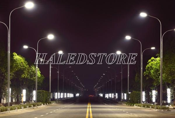 Ứng dụng đèn đường LED DQDA H1 160740 20K80L650-5A1 P50-GR-160