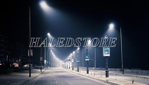Ứng dụng đèn đường LED DQDA H2 250740 30K112L700-7A1 P50-GR-250