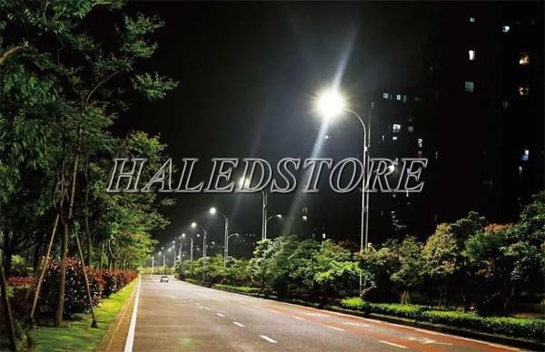Ứng dụng đèn đường LED PLDA BRP383 220/NW-160