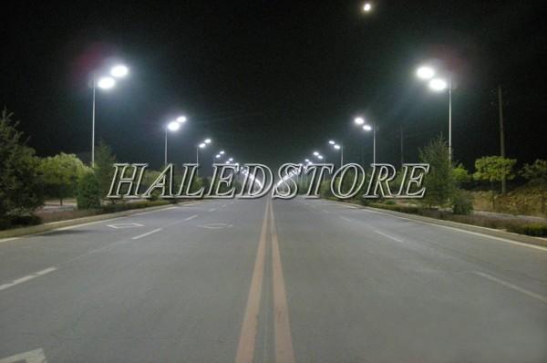 Ứng dụng đèn đường LED PLDA BRP391 60/NW-50