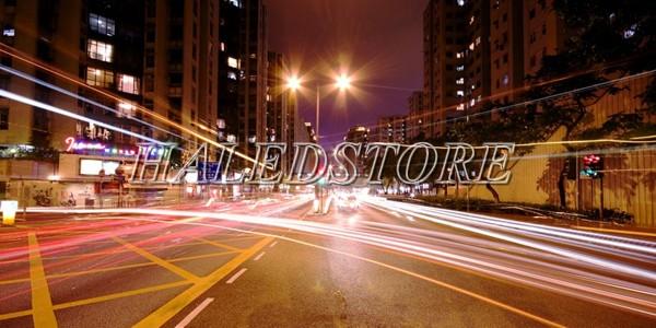 Ứng dụng đèn đường LED PLDA BRP391 93/WW-70
