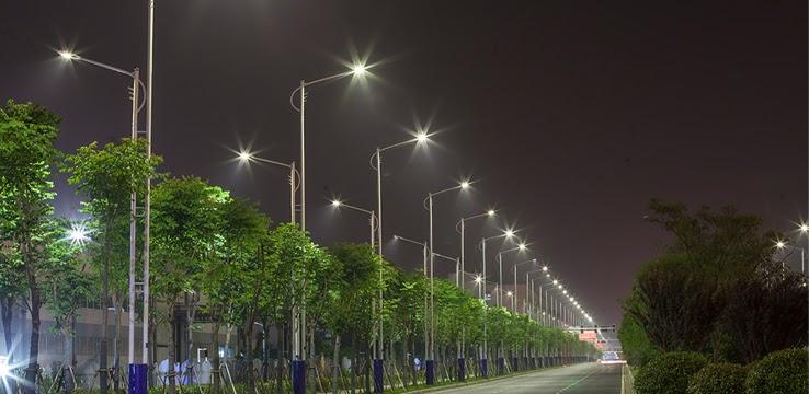 Ứng dụng đèn đường LED PLDA BRP394 240/NW-200