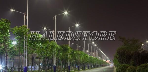 Ứng dụng đèn đường LED PLDA BRP394 288/NW-240