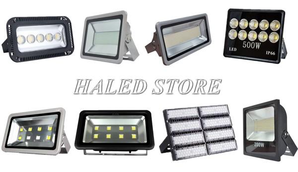 Đèn pha LED có đa dạng công suất nhất trong các loại đèn