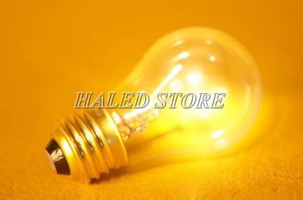 Bóng đèn sợi đốt dễ bị đứt dây sợi đốt hoặc chập cháy