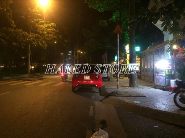 Ứng dụng chiếu sáng của đèn đường LED HLDAS1-40