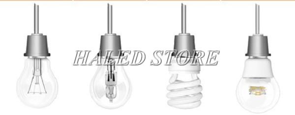 Các loại bóng đèn phổ biến hiện nay