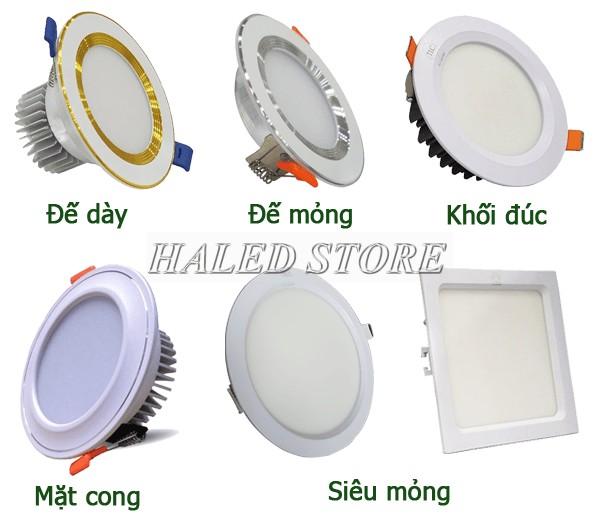 Các loại đèn LED âm trần tiết kiệm điện gấp 3 lần bóng truyền thống